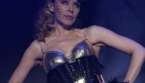 Kylie Minogue peforming Live