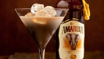 Amarula Martini with bottle